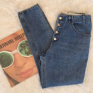 Vintage GUESS High Waist Button Fly Mom Jeans